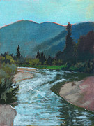 Pack Painting Originals - Maries View by Robert Bissett