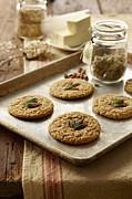 Marijuana Oatmeal Cookies Print by Lew Robertson/Fuse