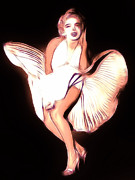 Kiss Paintings - Marilyn 1926- 1962 by Stefan Kuhn