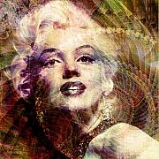 Marilyn Prints - Marilyn Print by Barbara Berney