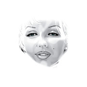 Marilyn Print by Brian Gibbs