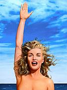 Norma Jean Prints - Marilyn by the Sea Print by James Robertson