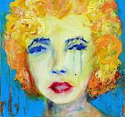 Banksy Paintings - Marilyn by Jacquie Gouveia
