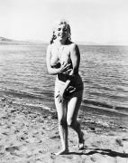 Bathing Posters - Marilyn Monroe (1926-1962) Poster by Granger