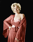 1950s Portraits Metal Prints - Marilyn Monroe, 1950s Metal Print by Everett