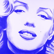 Norma Jean Originals - Marilyn Monroe - Blue Tint by Bob Baker