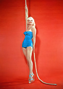 Swimsuit Prints - Marilyn Monroe, C. 1950s Print by Everett