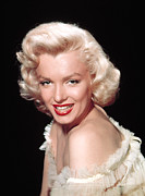 1950s Portraits Metal Prints - Marilyn Monroe, C. Mid-1950s Metal Print by Everett
