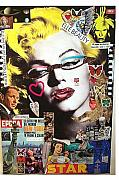 Frank Sinatra Mixed Media - Marilyn Monroe Fashion Doe 1962 by Francesco Martin