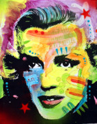 Marilyn Monroe Paintings - Marilyn Monroe I by Dean Russo