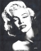 Marilyn Monroe Print by Maciel Cantelmo
