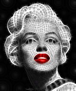 Genuine Posters - Marilyn Monroe Poster by Pamela Johnson