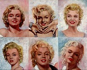 Starlett Posters - Marilyn Monroe Poster by Tim Kelly