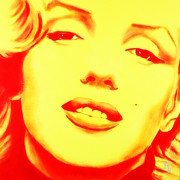 Norma Jean Originals - Marilyn Monroe - Yellow Red by Bob Baker