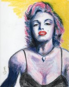 Marilyn Monroe Print by Yoshiko Mishina