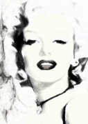Marilyn Munroe Painting Prints - Marilyn Munroe Print by Shanina Conway