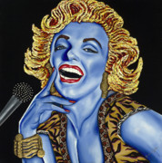 Nannette Harris Prints - Marilyn Print by Nannette Harris