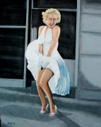 Iconic Paintings - Marilyn no. three by Tony Hitch
