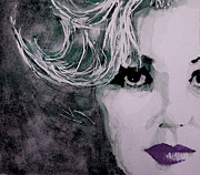 Marilyn Portrait Prints - Marilyn no9 Print by Paul Lovering