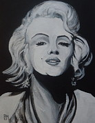Monroe Painting Originals - Marilyn by Pete Maier