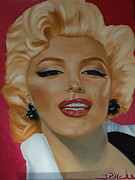 Actors Painting Originals - Marilyn by Thomas Hale