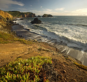 Golden Gate National Recreation Area Photos - Marin Headlands at Dusk by Matt Tilghman