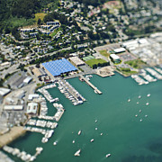 Sausalito California Metal Prints - Marina and Coastal Community Metal Print by Eddy Joaquim