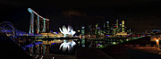 Asien Prints - Marina Bay Sands Print by Joerg Lingnau