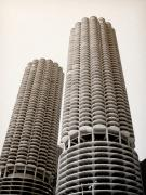 Circular Photos - Marina City Chicago by Julie Palencia