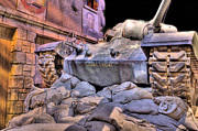 Korean War Memorial Photos - Marine Corps Museum Tank by JC Findley