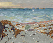 Marine Paintings - Marine by Edouard Vuillard