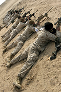Assault Rifles Photos - Marines Engage Targets During A Ten-day by Stocktrek Images