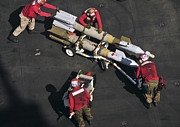 Enterprise Prints - Marines Push Pordnance Into Place Print by Stocktrek Images
