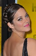 Hairstyles Posters - Marion Cotillard At Arrivals Poster by Everett