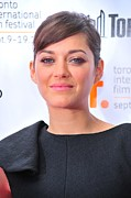 2010s Hairstyles Framed Prints - Marion Cotillard At Arrivals For Little Framed Print by Everett