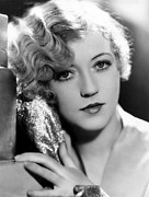 Gold Lame Prints - Marion Davies, 1928 Print by Everett