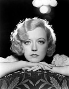 Thin Eyebrows Posters - Marion Davies, Early 1930s Poster by Everett