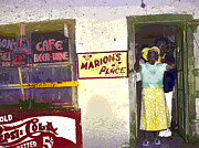 Black History Mixed Media - Marions Place by Charles Shoup