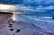 Maritimes Prints - Maritime Sunset Print by Matt Dobson