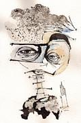 Mark M. Mellon With Glasses Print by Mark M  Mellon
