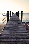 Florida Keys Photos - Marker 88 Pier by Ty Helbach