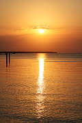 Islamorada Prints - Marker 88 Sunset Print by Ty Helbach