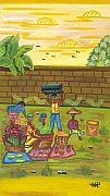 Haiti Originals - Market by the Wall by John Paul Joseph