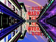 Pike Digital Art Posters - Market Entrance Poster by Tim Allen