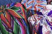Goods Prints - Market Goods Wrapped in Woven Blankets Print by Jeremy Woodhouse
