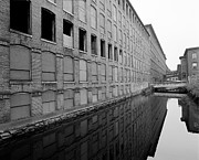 Mills Photo Originals - Market Mills Canal by Jan Faul