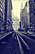 Hall Digital Art Prints - Market Street  Print by Bill Cannon