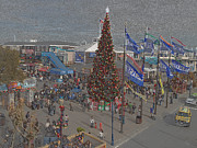 Pier 39 Digital Art - Marketing Tree by Ron Bissett