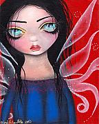Angel Art Painting Originals - Marla by  Abril Andrade Griffith