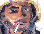 Iraq Paintings - Marlboro Man by David Poyant